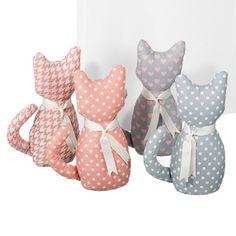 28,6€ Set de 4 sujetapuertas Cat. 25 cm. #sujetapuertas #gato #puerta Deskontalia Productos - Descuentos del 70%