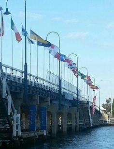 Old Mandurah Bridge: Crabfest 2013