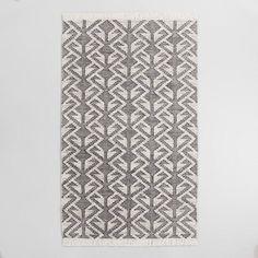 Black Graphic Woven Emerson Indoor Outdoor Rug -8x10=$399