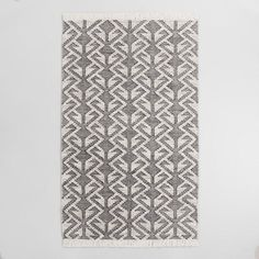 Black Graphic Woven Emerson Indoor Outdoor Rug -8x10=$399