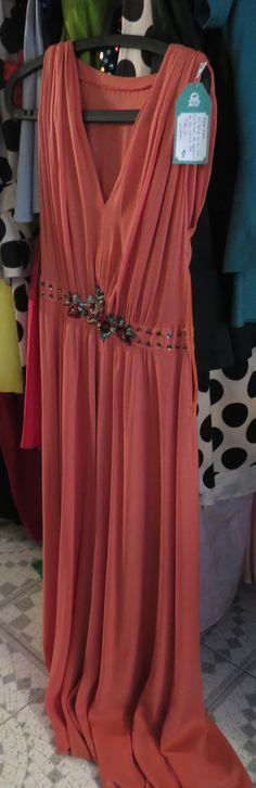 Vestido joya Años 70