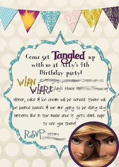 Tangled invite