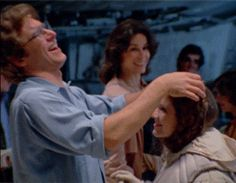 Carrie Fisher and Harrison Ford. All the feels