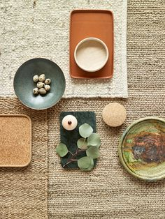 Color Palette inspiration - light neutrals, earth tones