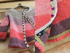 lovely cardigan by facile cecile, my favourite colours