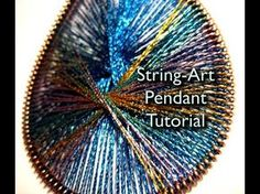 How to Make Peruvian Thread String Art Earrings?