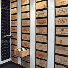 Keep the wine in wine box WOW; this is so great :-)