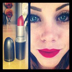 Mac lipstick makes me happy