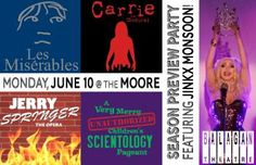 Balagan's Free Season Preview Party! - The Moore Theatre - Monday, June 10, 2013 from 7:30pm to 9:00pm