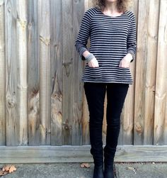 Sew Tessuti Blog - Sewing Tips & Tutorials - New Fabrics, Pattern Reviews: Pattern Review - Merchant and Mills' Top 64