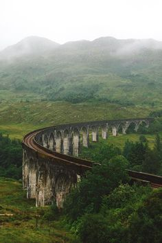 "k-e-e-p–breathing: """"Glenfinnan Viaduct by Alistair Horne "" """