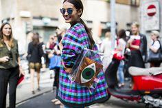 Milan Fashionweek SS2015 day 5 outside Dolce & Gabbana