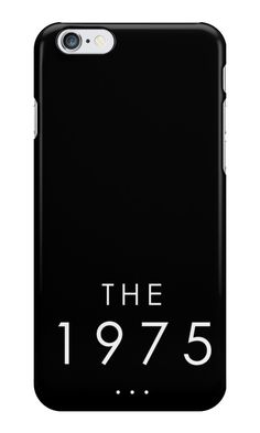 Our The 1975 Phone Case is available online now for just £5.99.    Check out our super cute The 1975 phone case, available for iPhone, iPod & Samsung models.    Material: Plastic, Production Method: Printed, Weight: 28g, Thickness: 12mm, Colour Sides: Black, Compatible With: iPhone 4/4s | iPhone 5/5s/SE | iPhone 5c | iPhone 6/6s | iPhone 7 | iPod 4th/5th Generation | Galaxy S4 | Galaxy S5 | Galaxy S6 | Galaxy S6 Edge | Galaxy S7 | Galaxy S7 Edge | Galaxy S8 | Galaxy S8+ | Galaxy J5, Features