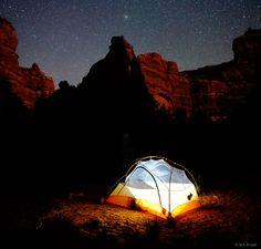 Owl Creek Canyon, Cedar Mesa, Utah, camping, stars, canyon