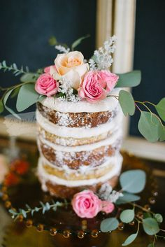 Use a family recipe for your bridal shower cake ~ bridal shower design // bridal shower // summer event // summer bridal shower // styled bridal shower ~ #bridalshowerdesign #styledbridalshower #summerbridalshowerideas #familyrecipe #carrotcake #nakedcake #flowersonacake Amazing Wedding Cakes, Elegant Wedding Cakes, Top Wedding Trends, Wedding Ideas, Wedding Themes, Pink Green Wedding, Naked Cakes, Summer Bridal Showers, Wedding Cake Inspiration