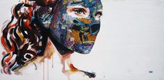 Dynamic duo Lora Zombie and Sandra Chevrier sock it to us with super art collection POW! Sandra Chevrier, Superhero Stories, Call Art, Marvel, Concept, Cartoon, Gallery, Illustration, Painting