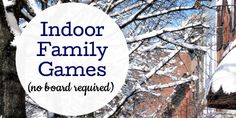 Is the weather bad? Try one of these fun family games, perfect for kids and adults of all ages.