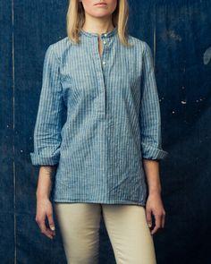Minimalist fashion. (via Imogene Willie - Jeannie Stripe)