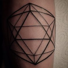 icosahedron tattoo