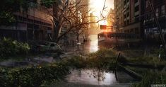 The Last of Us concept art