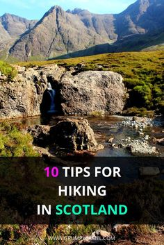 10 Tips for hiking in Scotland