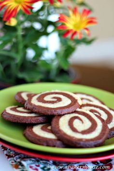 Espresso Pinwheel Cookies | A Baker's House