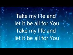 Lift My Life Up - Unspoken . all my dreams, all my plans - Lord, I put them in Your hands . Praise And Worship Music, Praise Songs, Worship Songs, Sing To The Lord, Praise The Lords, Psalm 96, Ephesians 5, Heaven Is Real, Christian Songs