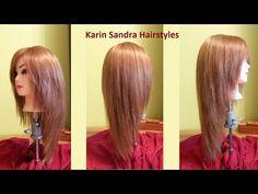 Long layered V Haircut tutorial | Haircut Face Framing layers | Long haircut with layers - YouTube