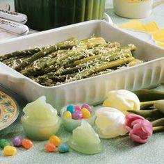 easter dinner, tasteofhom easterdinn, side dishes, olive oils, asparagus recipes