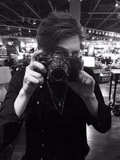 "#Imagine: dating photo major Luke Hemming in college &going to a coffee shop like stereotypical college students &Luke looks at you &says ""Wait!..."" as he picks up his camera, ""don't move...The lighting is hitting your face an absolutely perfect angle right now."" You laugh at your dedicated photographer as he snaps at least a dozen photos. ""You think you got enough there, Hemmo?"" you joke as Luke looks at the pictures. ""I can never have enough photos of a beautiful woman on earth"" Luke says…"