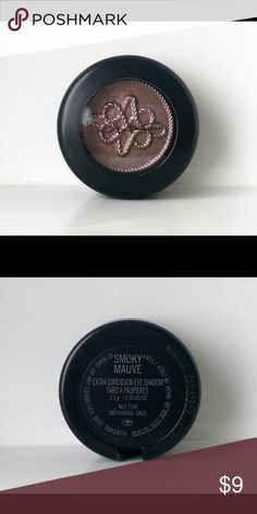MAC Extra Dimension Eyeshadow-Smoky Mauve You can't tell in the photo but I did swatch this once. The Shadow was part of a gift set and did not come with a box. MAC Makeup Eyeshadow