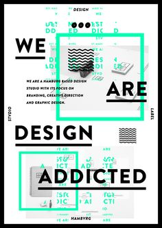 DESIGNADDICTED . DESIGN STVDIO HAMBVRG / FREE POSTER by DESIGNADDICTED , via Behance
