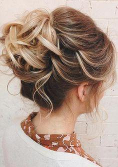 simple wedding hairstyles best photos | Pinterest | Simple wedding ...