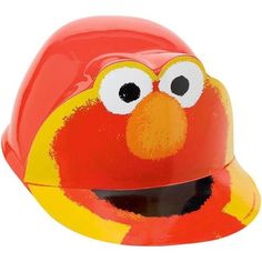 Elmo Sesame Street Birthday Party Favors Plastic Hat 1 Count Kids Party Supplies #unk #Birthday