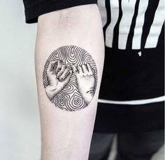 Uls Metzger (I like as art more than tat) Noir Tattoo, Mädchen Tattoo, Tattoo Flash, Pinky Tattoo, Black Tattoo Art, Black Tattoos, Small Tattoos, Cool Tattoos, Tatoos