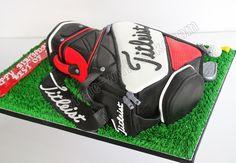 Celebrate with Cake!: Golf Bag Cake