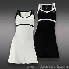 Tennis Dress Nike Tennis Dress, Tennis Clothes, Tennis Outfits, Netball Dresses, Gym Style, Workout Wear, Nike Women, Two Piece Skirt Set, Dresses For Work