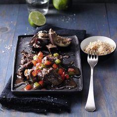 Ingwer-Rindereintopf mit Limetten und Aubergine Rezept | Küchengötter