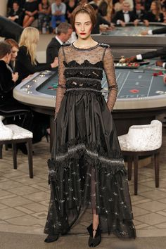 Chanel  - The Couture collections up-close | Harper's Bazaar