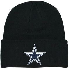c5b2d99a2 Dallas Cowboys Black Knit Beanie Dallas Cowboys Jersey