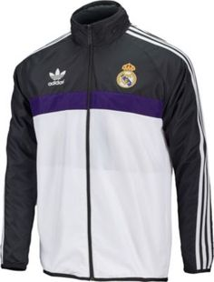 1cb559e05 adidas Real Madrid Windbreaker. Get yours today from www.soccerpro.com  Ronaldo Jersey