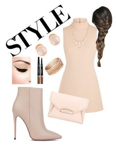 """""""Style"""" by peach-princess ❤ liked on Polyvore featuring Akira Black Label, Calvin Klein Collection, Rivka Friedman, Givenchy, Kenneth Jay Lane and Red Camel"""
