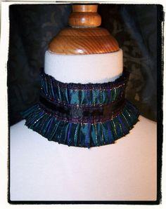 Mardi Gras Reversible Victorian Vampire Lace by RecycledRockstah