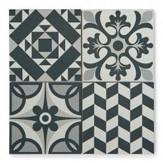 Buy Harlequin Blue tiles from Porcelain Superstore. Visit our website for great deals on porcelain tiles all with 5 year guarantee. Patterned Wall Tiles, Wall And Floor Tiles, Morrocan Patterns, Ethnic Patterns, Wood Stove Wall, Porch Tile, Contemporary Tile, Patchwork Tiles, Room Design Bedroom