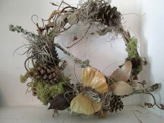Rustic Natural Grapevine Butterfly Wreath by JustMakeLemonade, $28.50