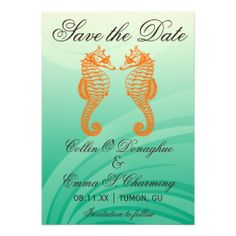Seahorse Beach Wedding Save the Date Cards This DealsReview from Associated Store with this Deal...