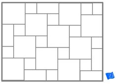 Pinwheel tile pattern - plain.For more on tile patterns and home design click through to the website.