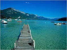 Turismo de Francia: La Ruta de los lagos, Rhône-Alpes