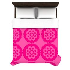 Kess InHouse Nicole Ketchum Moroccan Hot Pink 88 by Duvet Cover, Queen Pink Bedroom For Girls, Little Girl Rooms, Dream Master Bedroom, All Modern, Room Inspiration, Bedding Sets, Moroccan, Home Accessories, Duvet Covers