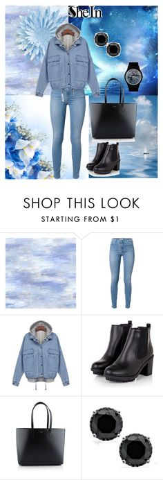 """""""She 2"""" by sarahguo ❤ liked on Polyvore featuring 7 For All Mankind, Yves Saint Laurent and May28th"""
